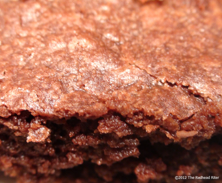 Flaky Chewy Fudge Brownie