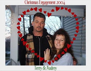 Audrey & Terry engaged