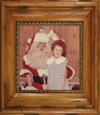 The Redhead Riter And Santa Claus