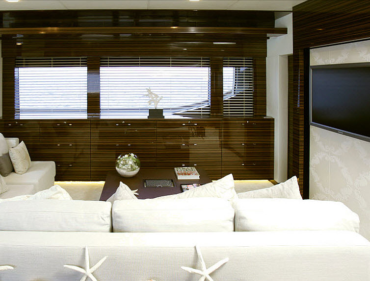 view on a Tamsen Yacht