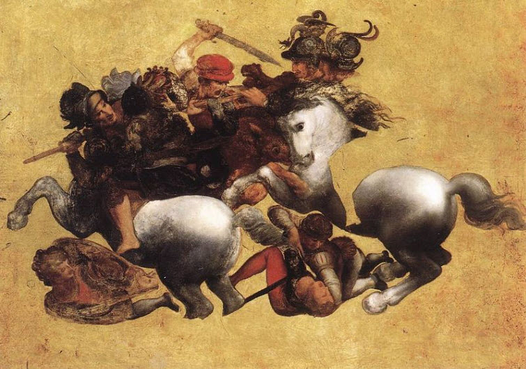 Battle of Anghiari Leonardo_da_Vinci