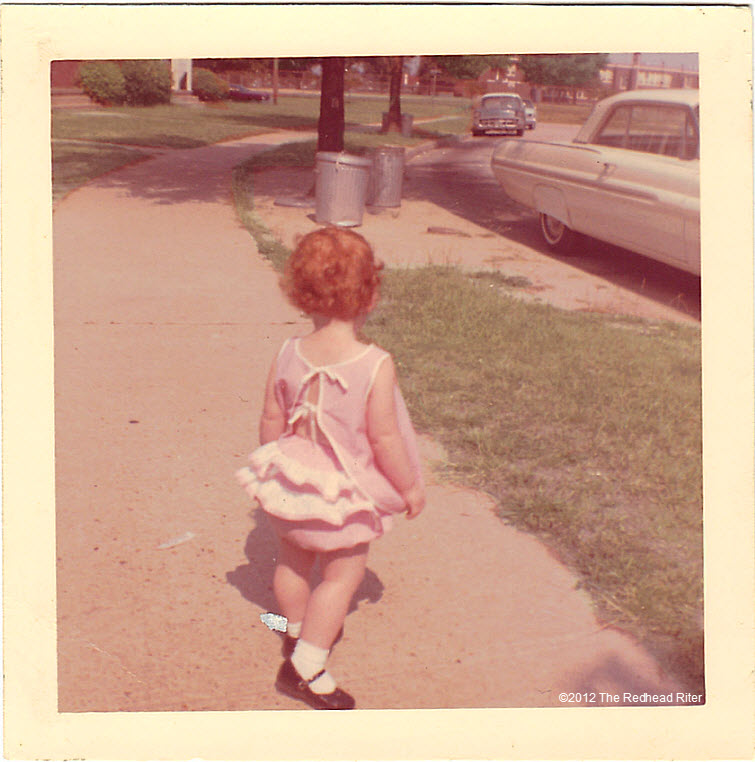 Young  Curly Hair Redhead Riter2