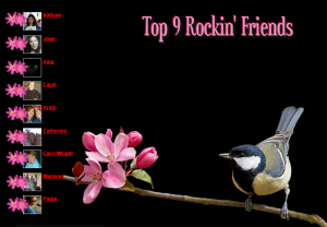 Rockin' Friends Woo Us To Your Blog