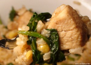 Colorful Chicken Corn Spinach Healthy Delight Recipe