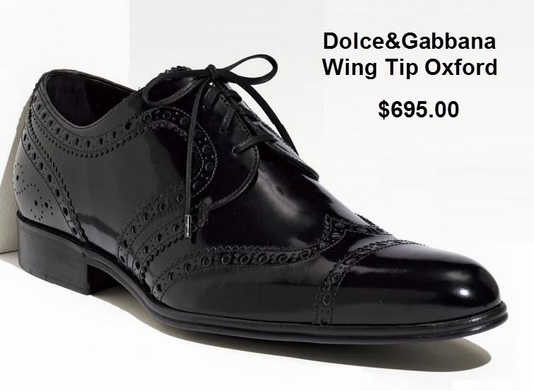 dolce gabbana wing tip oxford 2