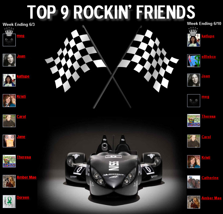 top 9 rockin friends community
