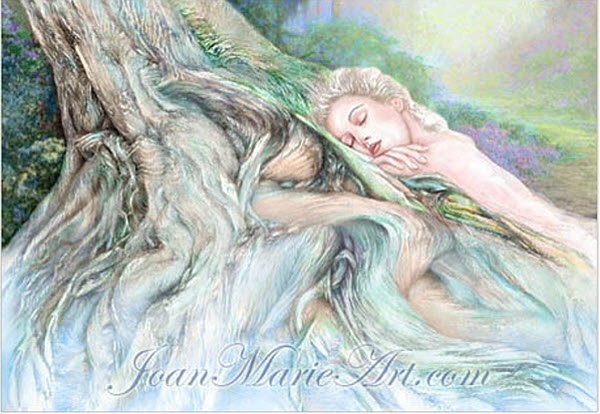 Joan Marie Mixed Media Art Tranquility