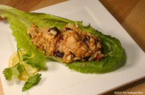 Chicken Lettuce Wrap Step-By-Step Recipe