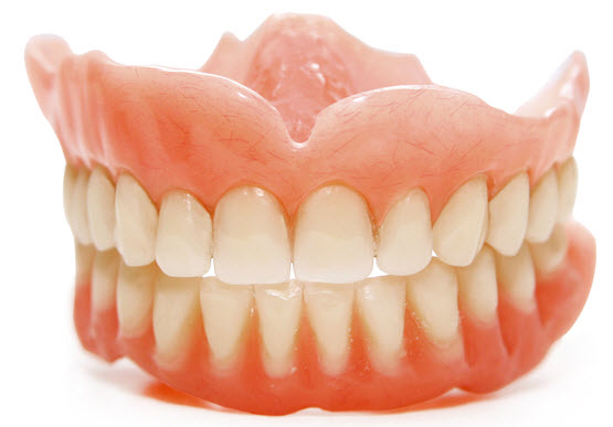 false teeth women men dentures