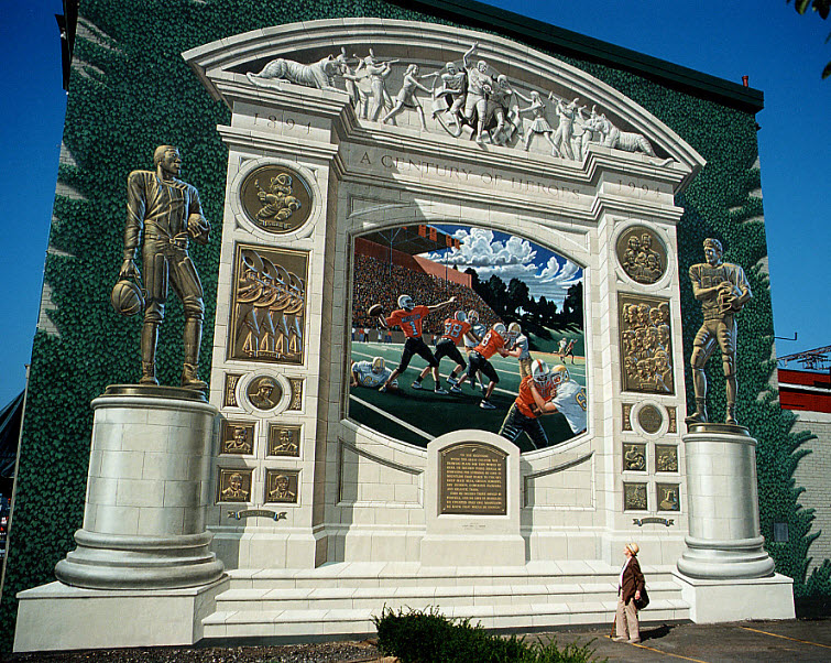 A Century Of Heroes Eric Grohe Murals 1