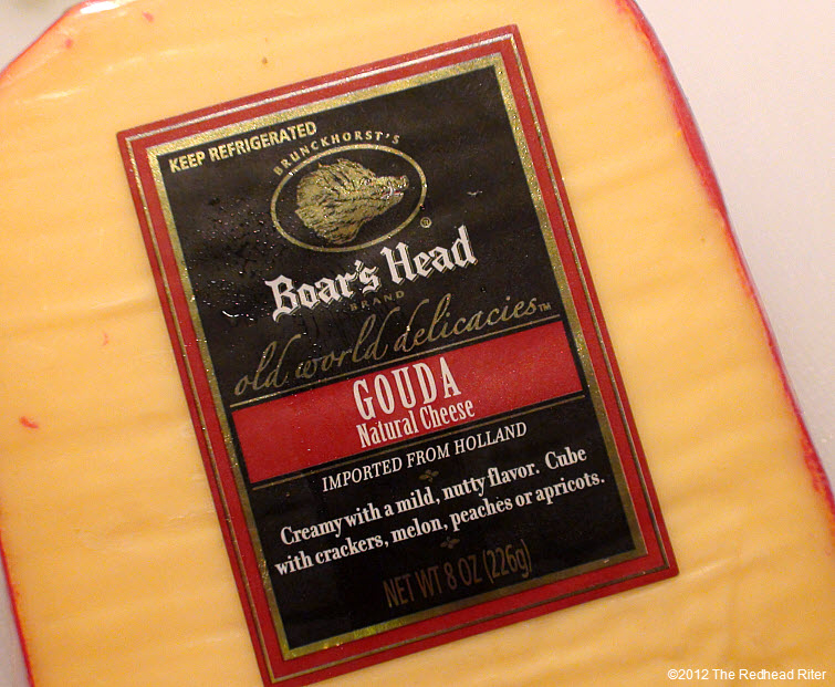 Boars Head Gouda Natural Cheese 1