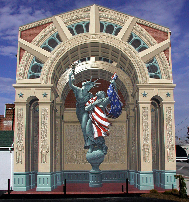Eric Grohe Murals Liberty Remembers 1