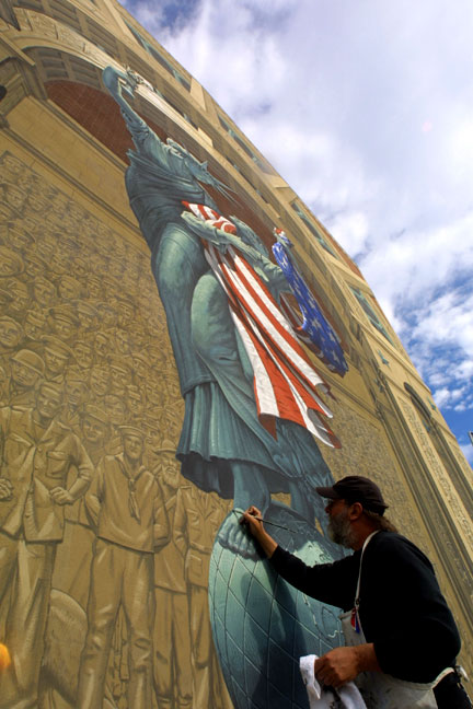 Eric Grohe Murals Liberty Remembers 2