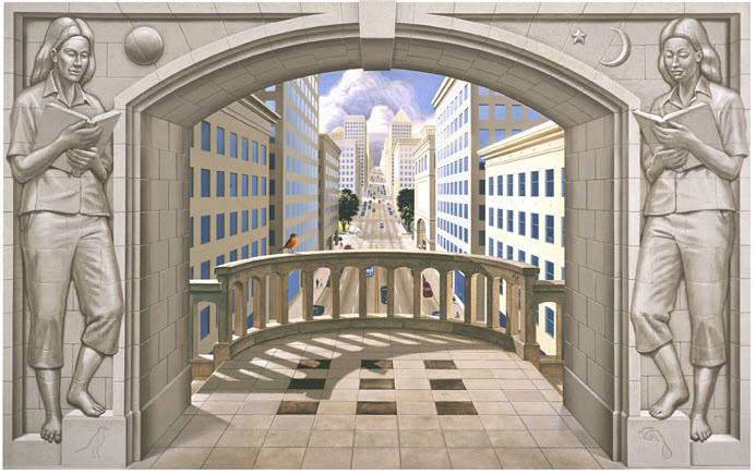 Eric Grohe Murals Paths of Promise 1