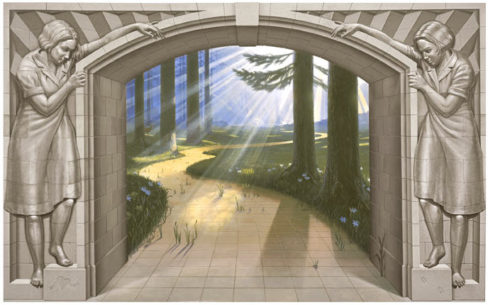 Eric Grohe Murals Paths of Promise 2