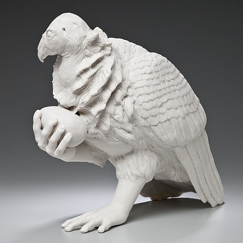 Kate MacDowell porcelain assisted living side