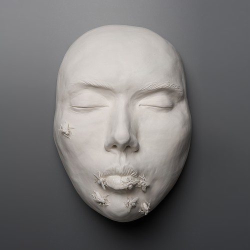 Kate MacDowell porcelain goodbyekiss_front