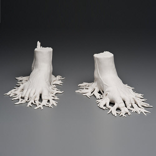 Kate MacDowell porcelain migrant