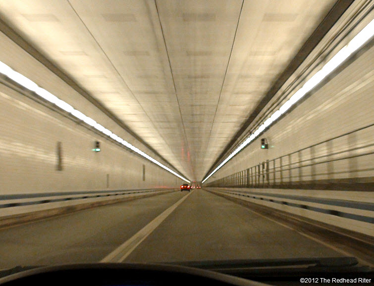 Virginia lighted tunnel under water 2