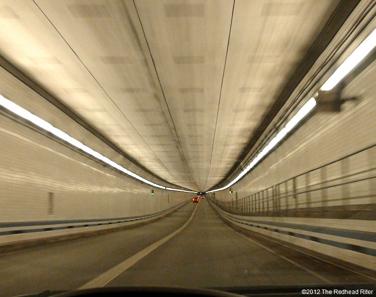 Virginia lighted tunnel under water 4