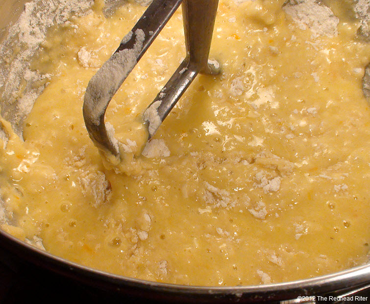 add half the dry ingredients 12