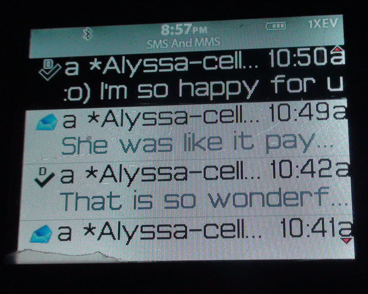 alyssa so excited text message 3