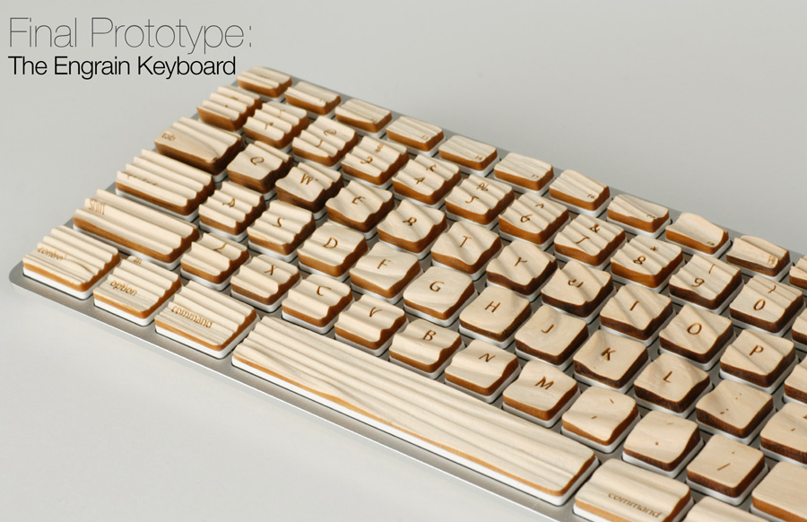 michael roopenian engrain keyboard wood 2