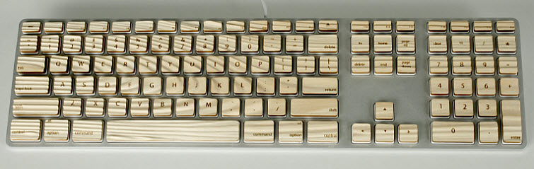 michael roopenian engrain keyboard wood 4