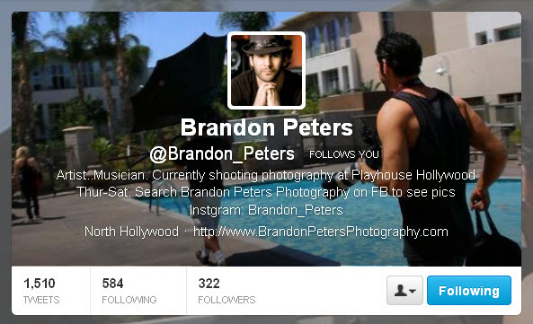 Brandon Peters @Brandon_Peters Twitter header