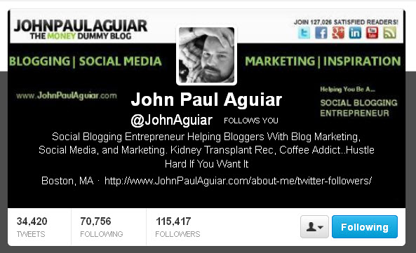 John Paul Aguiar @JohnAguiar Twitter header