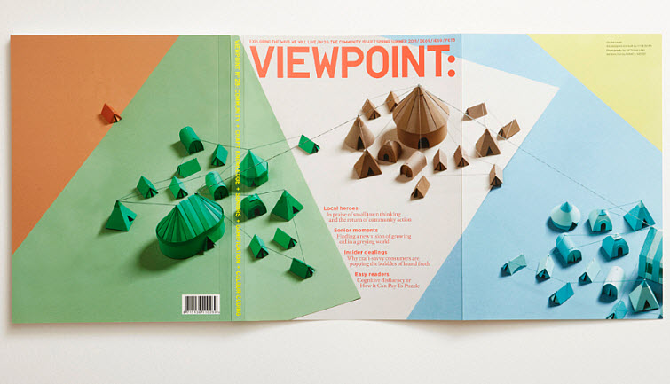KyleBean Viewpoint 'Communities' cover paper art