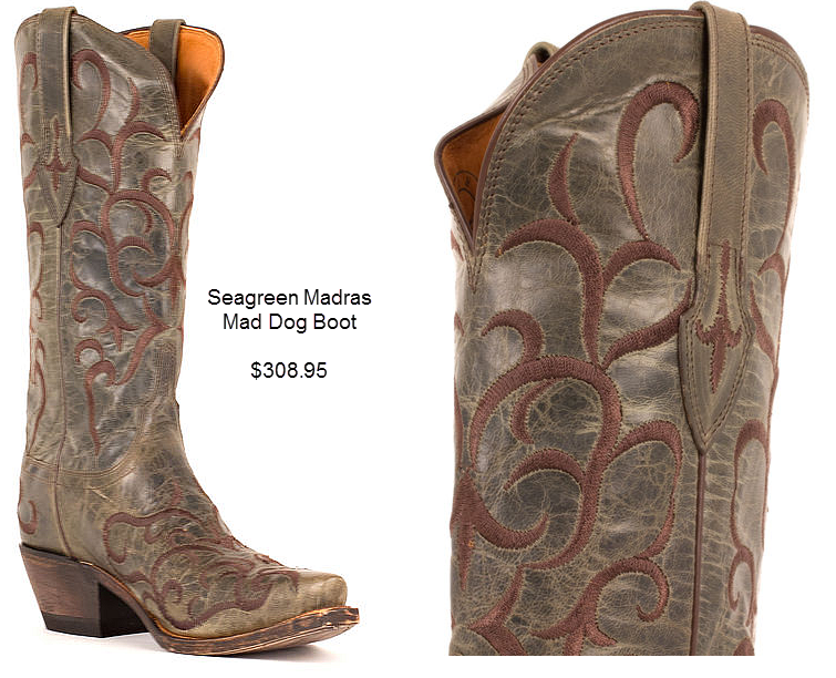 Seagreen Madras Mad Dog Boot