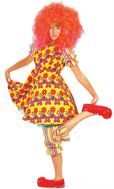 clown redhead pale no fashion