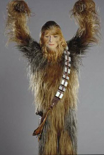 self image chewbacca teenager ugly