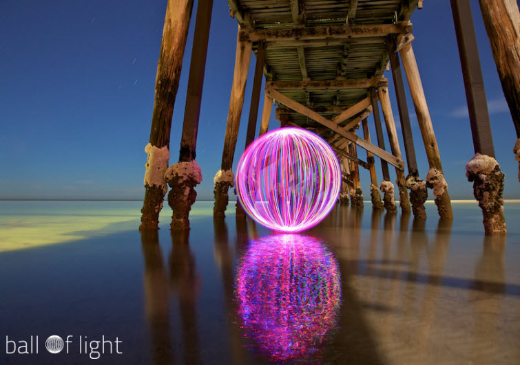 denis smith ball of light purple pier