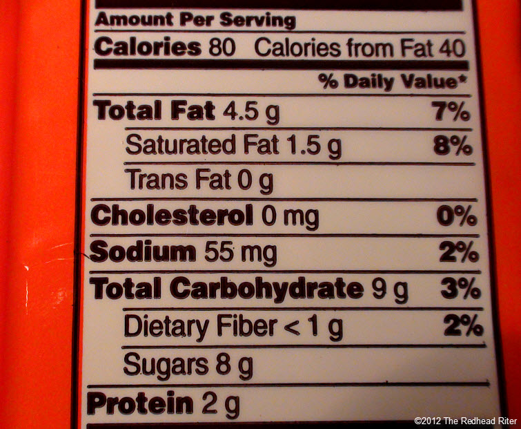 reeses peanutbutter cup nutrition information 3