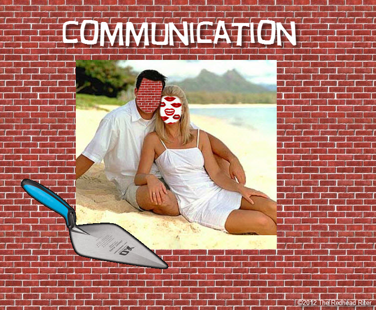alking to brick wall communication 2