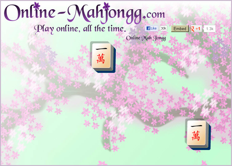 Online Mahjong Game Aging Relaxing 1