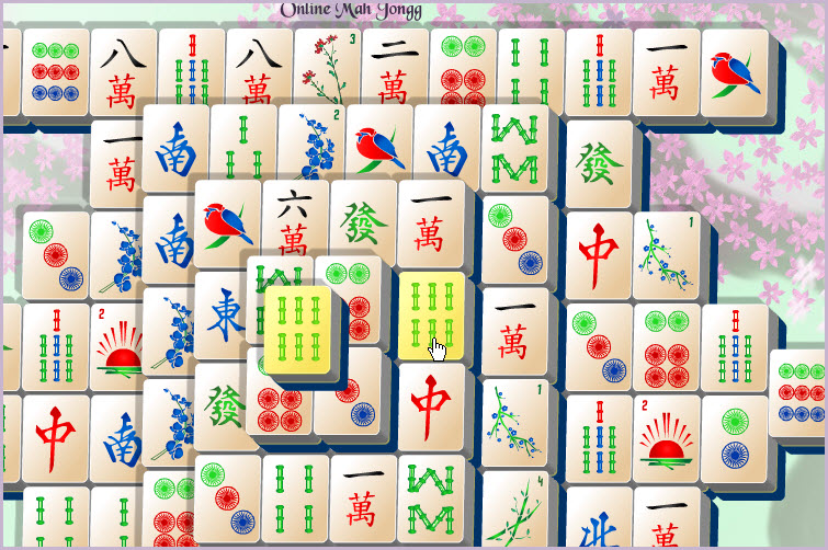 Online Mahjong Game click tiles