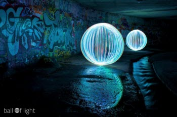Denis Smith's Ball of Light Photography Saved His Life