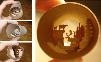 Toilet Paper Roll Anastassia Elias Far North Reindeer