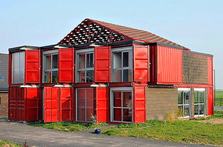 Storage Container Home PATRICK PARTOUCHE ARCHITECTE 1