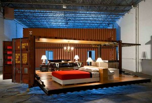 Inexpensive Shipping  Container For A Designer Home