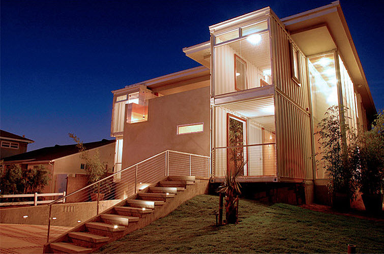 Storage Container Home Redondo Beach House Demaria Design