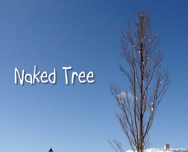 naked nude nekkid - the naked tree