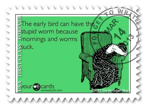 humorous Fake Postage Stamp