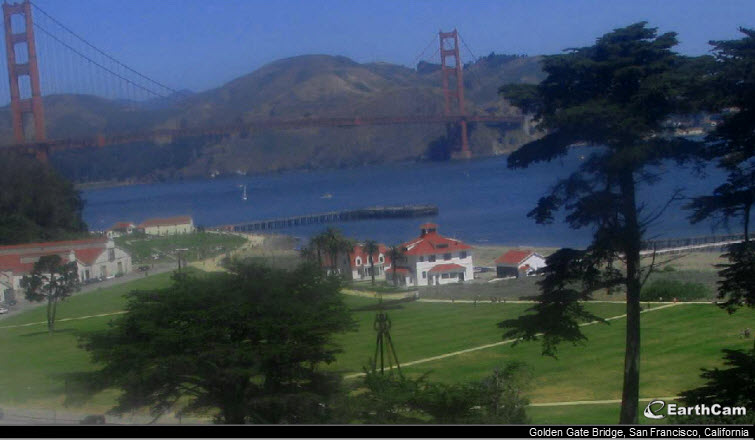 golden gate bridge earthcam webcam