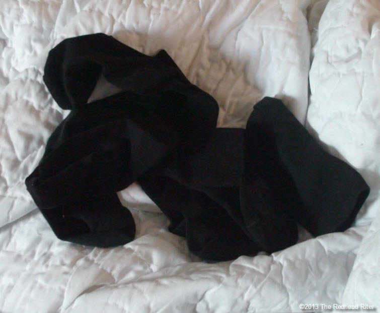 6 black socks