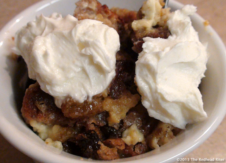 grain free bread pudding