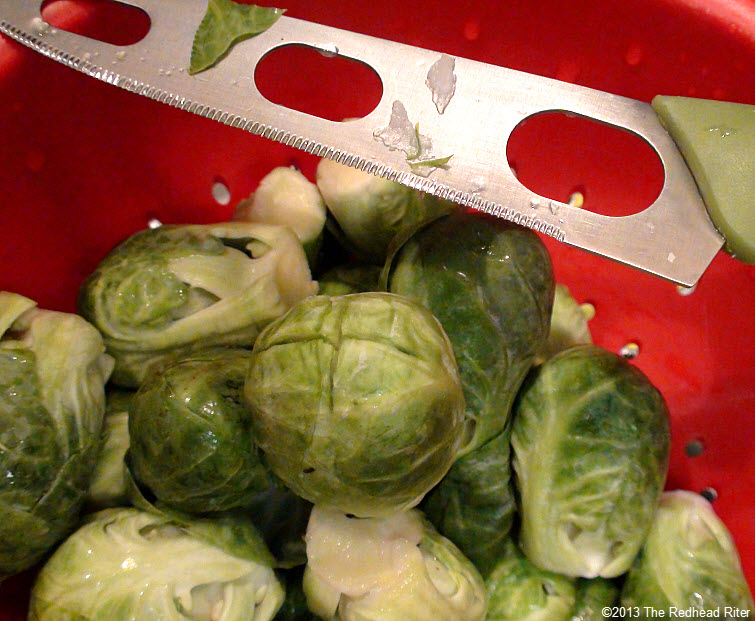Brussel Sprouts With Drizzled Balsamic Glaze 04